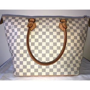 Authentic Louis Vuitton Azur Saleya MM Bag